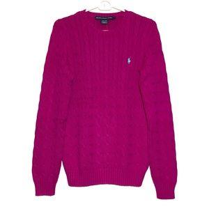 RALPH LAUREN SPORT cable knit sweater🌺🌺